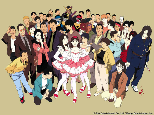 perfect blue characters