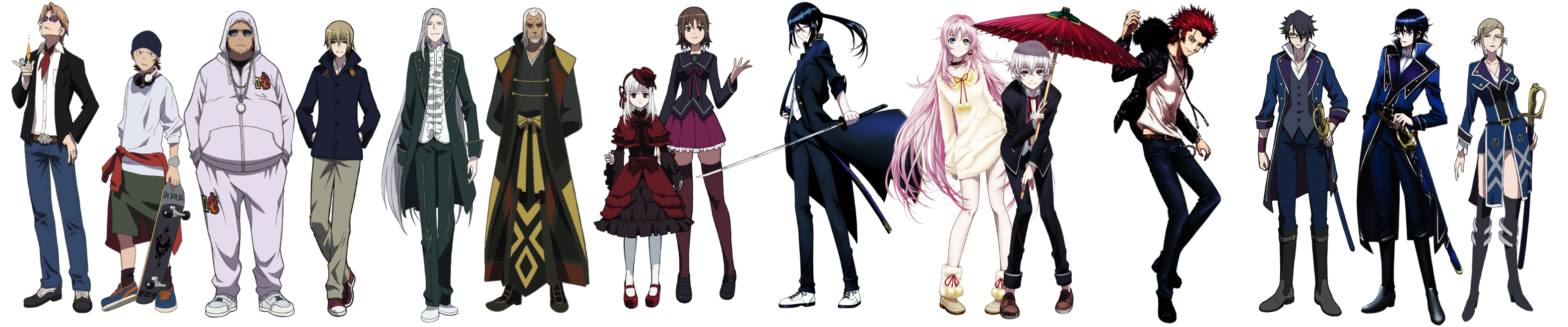 K Anime Logo k anime characters