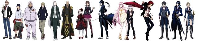 k anime characters