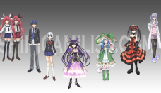 date a live anime characters