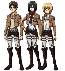 shingeki no kyojin characters