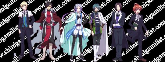 makai ouji characters