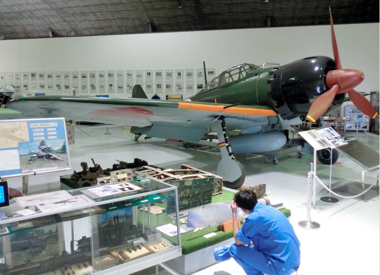 Restored Zero Fighter Japan