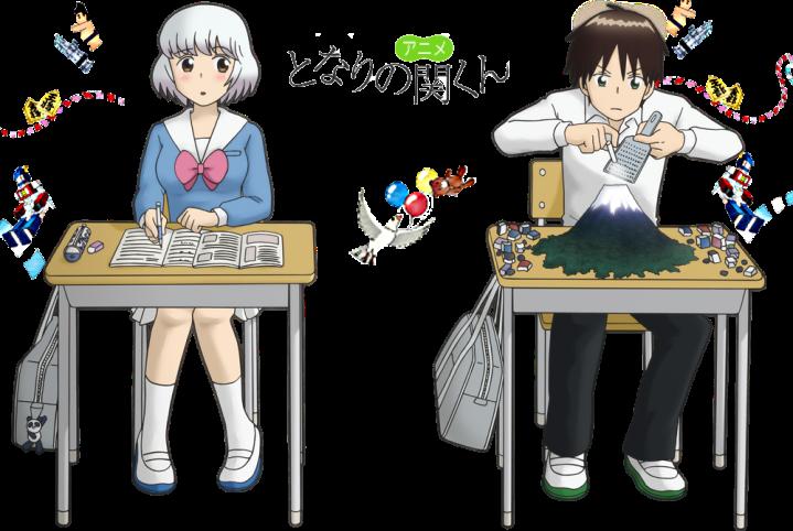 Image result for tonari no seki-kun