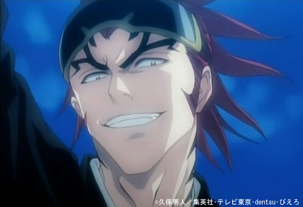renji red haired male anime characters