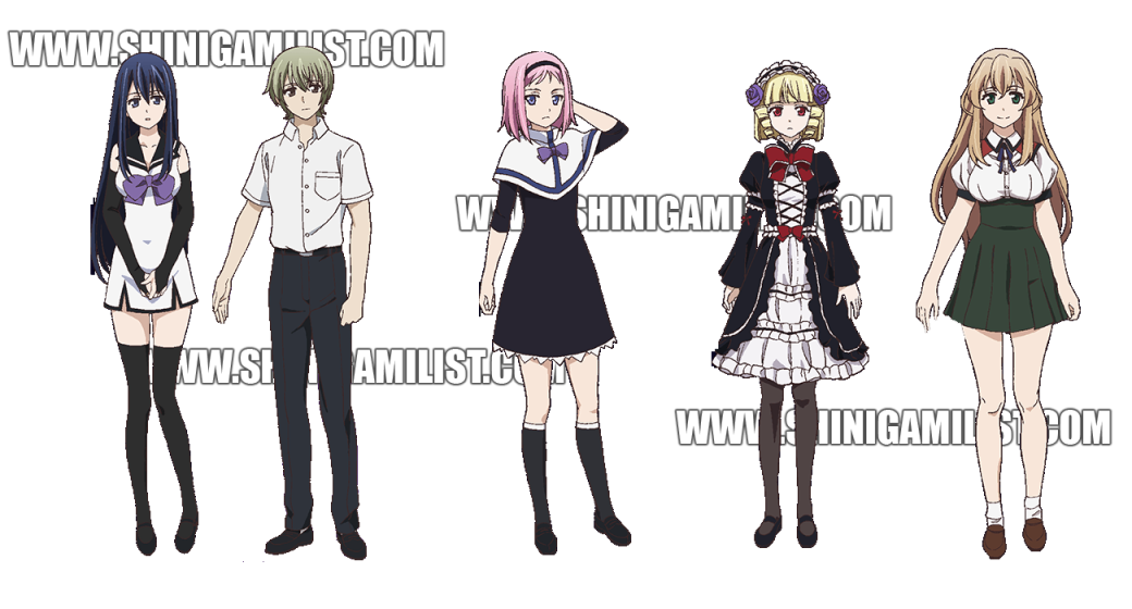 gokukoku no brynhildr characters