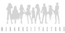 mekaku city actors anime logo
