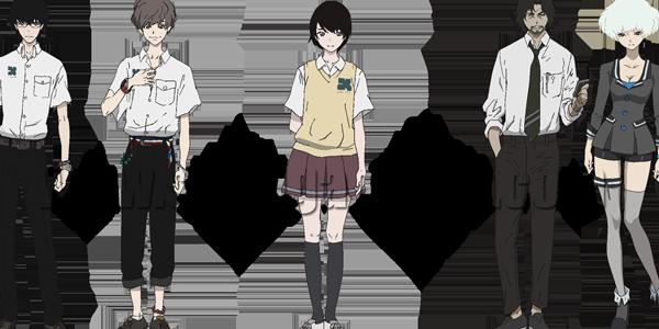 Zankyou no Tokyo Anime Characters