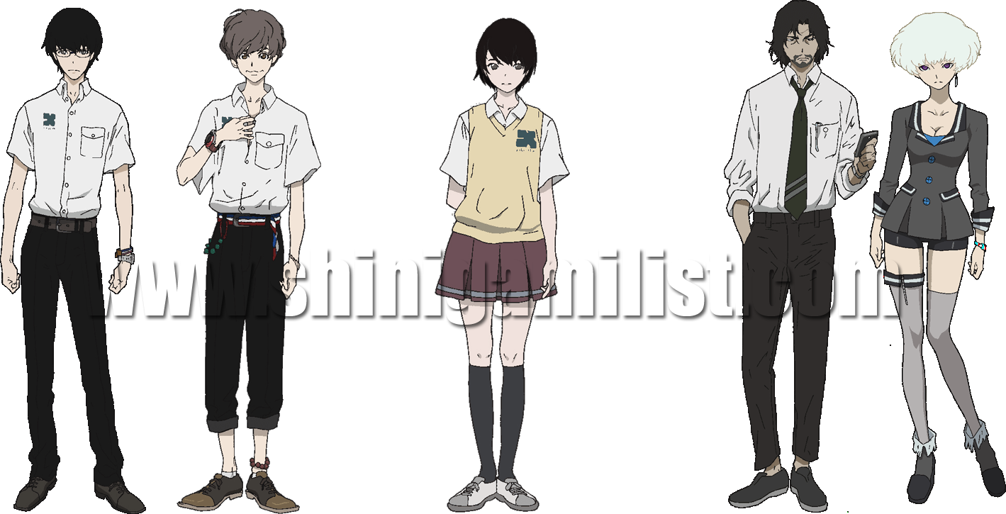 SUMMER ANIME SEASON 2014 PREVIEW: ZANKYOU NO TERROR (残響のテロル ...