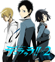 Durarara!!x2 anime TV series