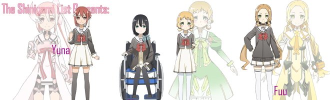 yuki yuna wa yuusha de aru characters