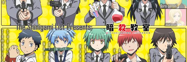ansatsu kyoushitsu assassination classroom characters