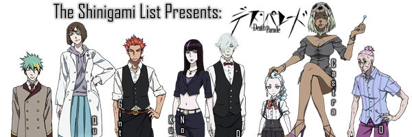 death parade anime characters