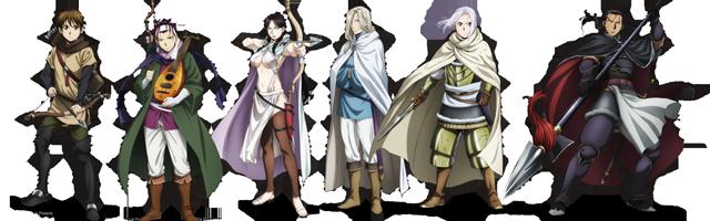 arslan senki anime characters