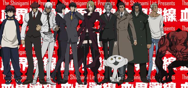 kekkai sensen anime characters spring 2015