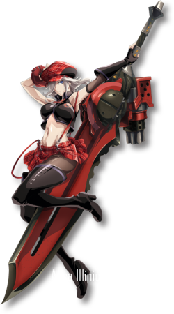 God Eater Alisa Illinichina Amiella