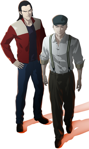 Ajin anime characters male