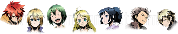 divine gate anime characters