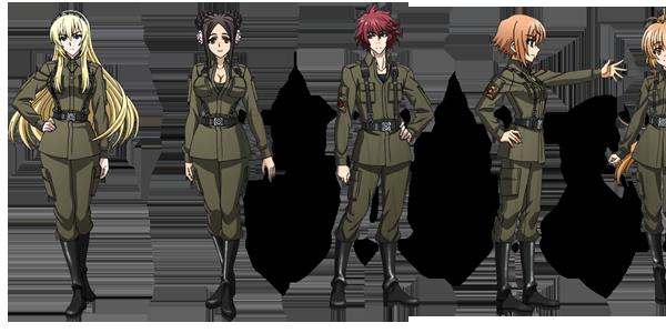 Schwarzesmarken anime characters