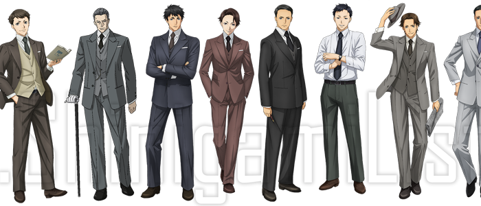 Joker Game Characters
