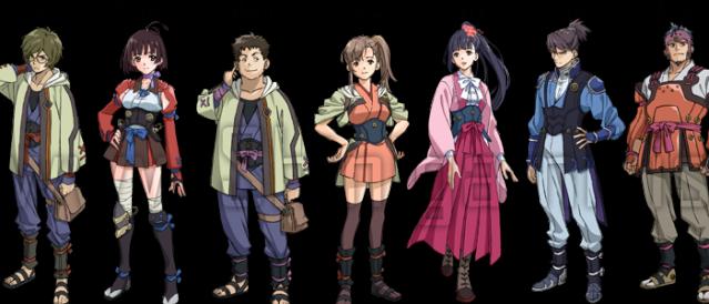 koutetsujou no kabaneri characters