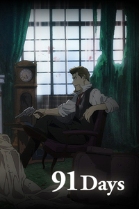 91 days anime poster